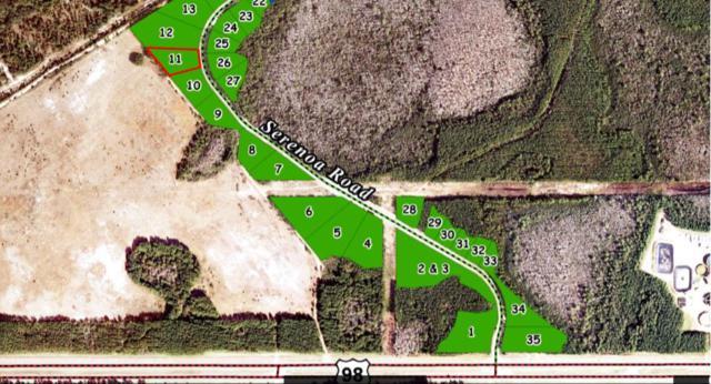 Lot 11 Serenoa Road, Santa Rosa Beach, FL 32459 (MLS #794261) :: Classic Luxury Real Estate, LLC