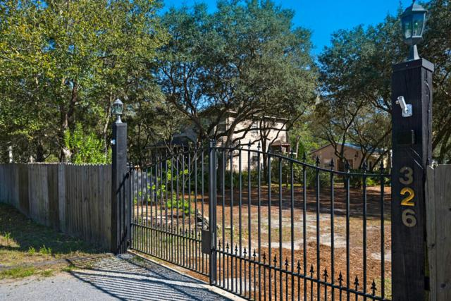 326 Peachtree Circle, Santa Rosa Beach, FL 32459 (MLS #794354) :: Luxury Properties on 30A