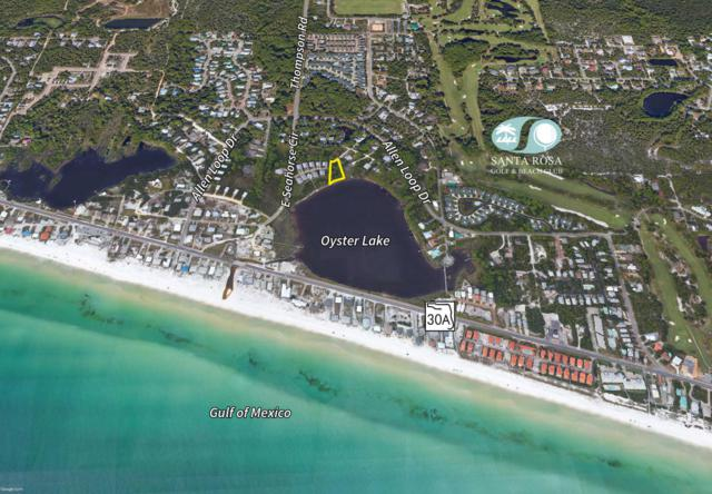 +/-.68 Acres Oyster Lake Drive, Santa Rosa Beach, FL 32459 (MLS #796924) :: Scenic Sotheby's International Realty