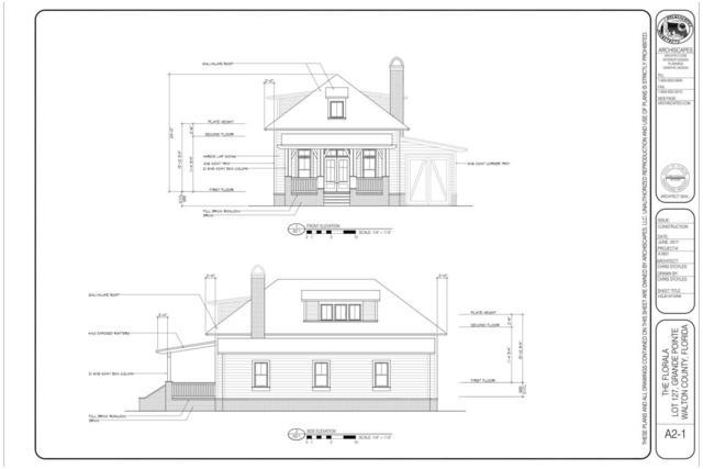 Lot Grande Pointe Cirlce E. 56, Inlet Beach, FL 32461 (MLS #797280) :: Luxury Properties Real Estate