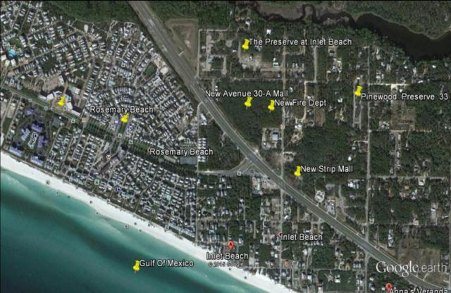 Lot 59 W Willow Mist Road, Inlet Beach, FL 32461 (MLS #798058) :: Luxury Properties Real Estate