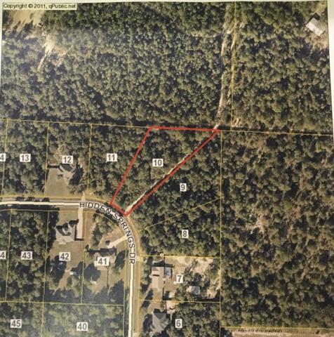 Lot 10 Hidden Springs Drive, Baker, FL 32531 (MLS #798951) :: Coast Properties