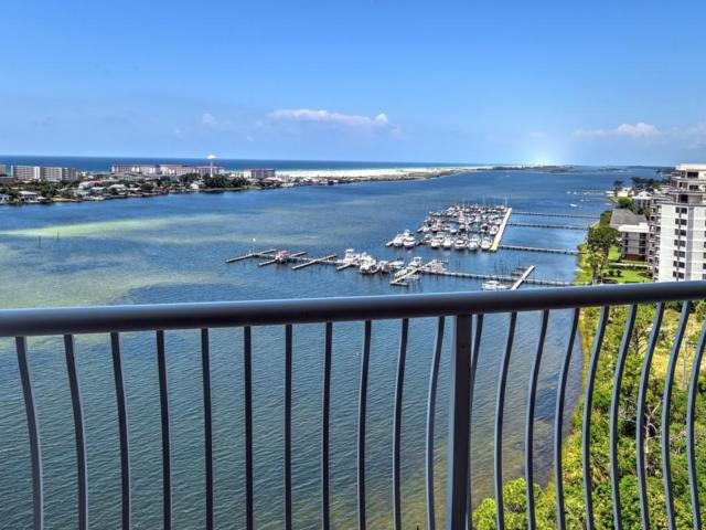 124 SW Miracle Strip Parkway #1303, Fort Walton Beach, FL 32548 (MLS #799093) :: Berkshire Hathaway HomeServices Beach Properties of Florida