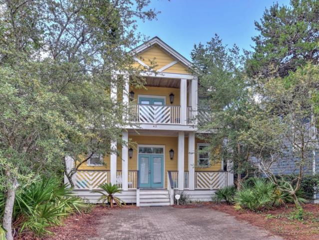 42 Barefoot Lane, Inlet Beach, FL 32461 (MLS #799312) :: Coast Properties