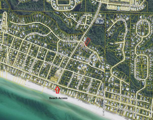 lot 21 Suzanne, Santa Rosa Beach, FL 32459 (MLS #799475) :: Luxury Properties Real Estate