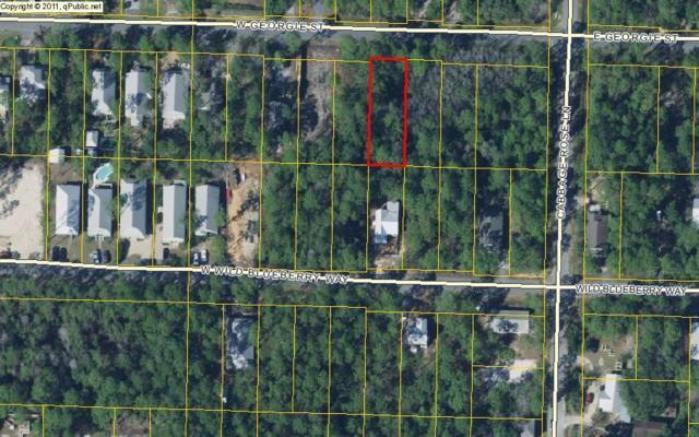 Lot 16 W Georgie West Street, Santa Rosa Beach, FL 32459 (MLS #800920) :: Classic Luxury Real Estate, LLC