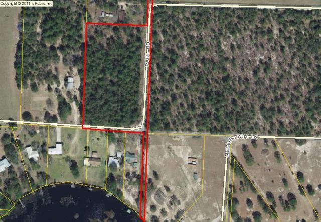 xxx Paul Road, Defuniak Springs, FL 32433 (MLS #801356) :: Berkshire Hathaway HomeServices Beach Properties of Florida