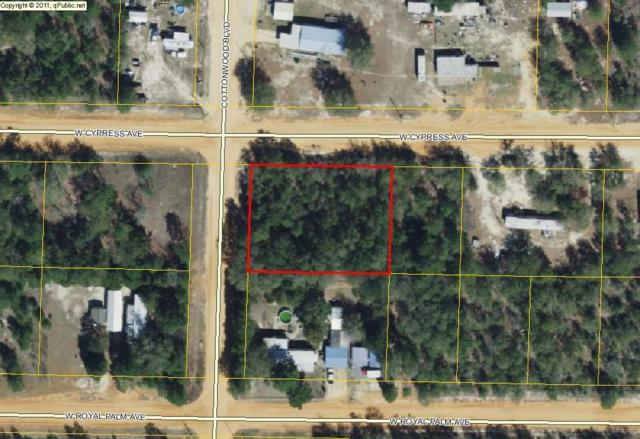 2 lots Cottonwood Blvd., Defuniak Springs, FL 32433 (MLS #802103) :: Luxury Properties Real Estate