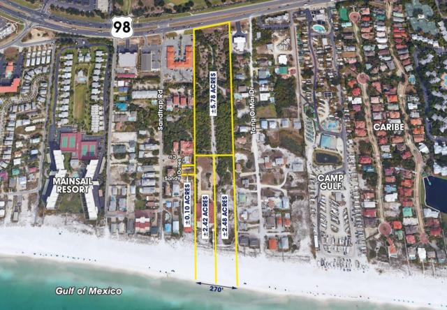 10+ Acres 270' On Beach;Extends To Hwy98 Circle, Miramar Beach, FL 32550 (MLS #802123) :: Keller Williams Realty Emerald Coast