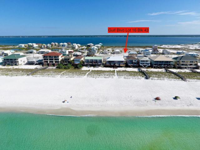 L16BLK43 Gulf Boulevard, Navarre, FL 32566 (MLS #803095) :: Keller Williams Emerald Coast