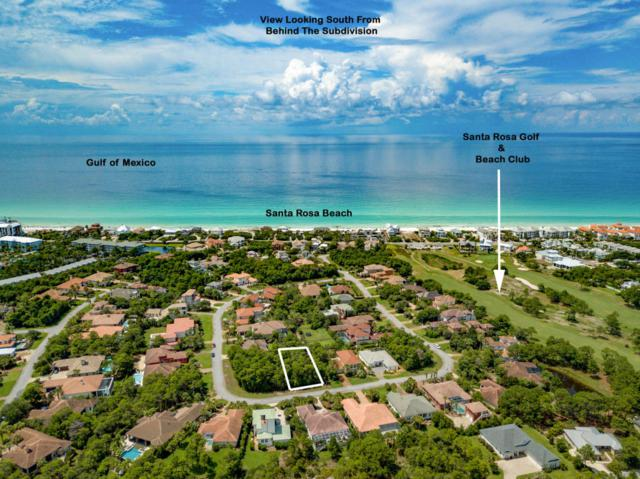 Lot 8 Bk F Emerald Ridge, Santa Rosa Beach, FL 32459 (MLS #803173) :: Luxury Properties Real Estate