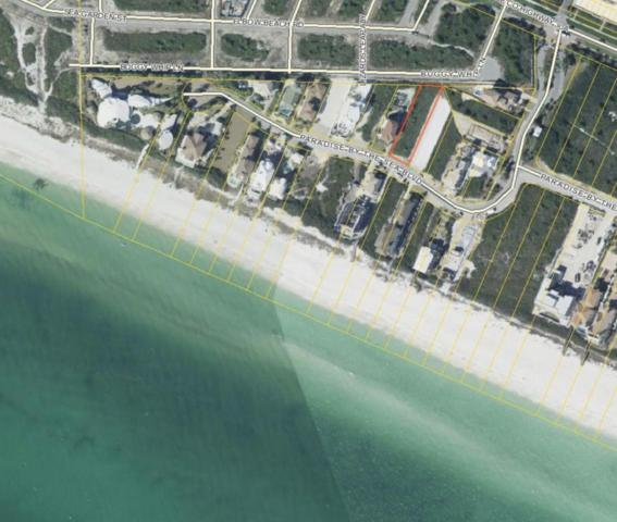 Lot 8B Paradise By The Sea Blvd, Inlet Beach, FL 32461 (MLS #805549) :: Luxury Properties on 30A