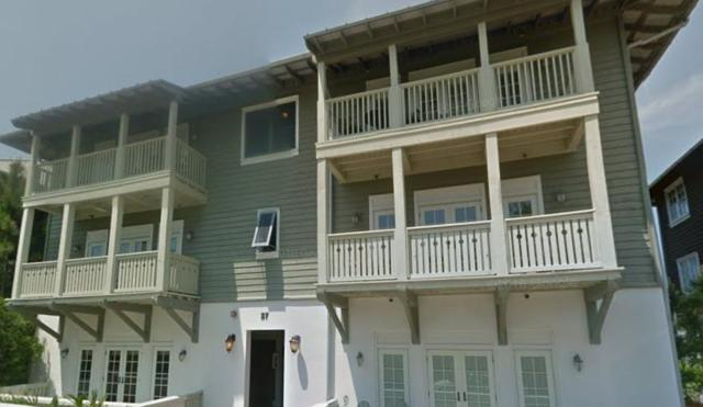 27 St Augustine Street Unit 6101, Inlet Beach, FL 32461 (MLS #805618) :: Luxury Properties on 30A
