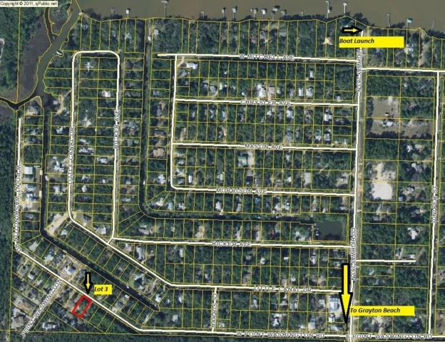Lot 3 W Point Washington Road, Santa Rosa Beach, FL 32459 (MLS #807446) :: Keller Williams Realty Emerald Coast