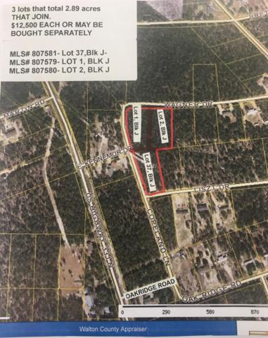 1 acre Copeland Lane, Defuniak Springs, FL 32433 (MLS #807579) :: ResortQuest Real Estate