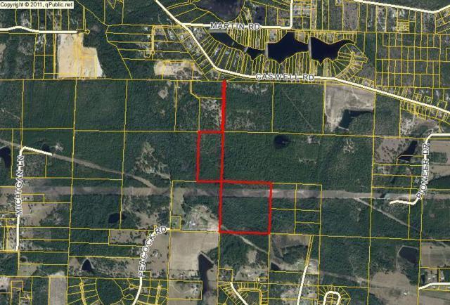 60 Acres Mae's Lane, Defuniak Springs, FL 32433 (MLS #810079) :: Keller Williams Realty Emerald Coast