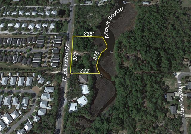 1000 Mack Bayou Road, Santa Rosa Beach, FL 32459 (MLS #810252) :: Classic Luxury Real Estate, LLC
