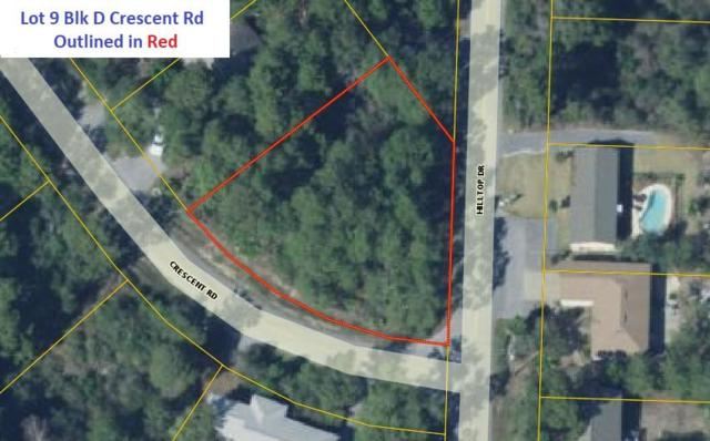 Lot 9 BlkD Hilltop - Crescent Drive, Santa Rosa Beach, FL 32459 (MLS #810285) :: Scenic Sotheby's International Realty