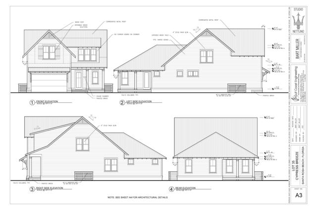 Lot 35 S Cypress Breeze Boulevard, Santa Rosa Beach, FL 32459 (MLS #813453) :: Luxury Properties Real Estate