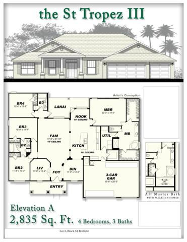 6572 Redfield Street, Navarre, FL 32566 (MLS #813729) :: ResortQuest Real Estate