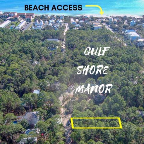 Lot 4 Montigo Ave, Santa Rosa Beach, FL 32459 (MLS #814872) :: ResortQuest Real Estate