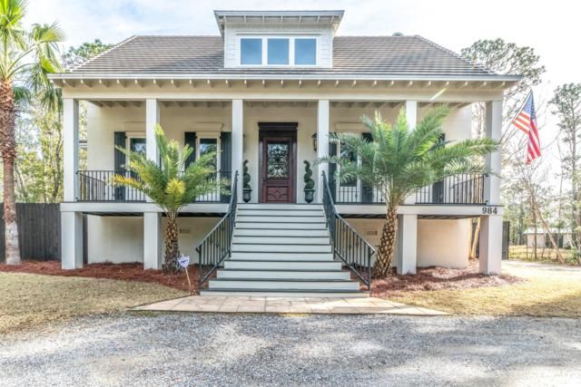 984 Mussett Bayou Road, Santa Rosa Beach, FL 32459 (MLS #815033) :: Classic Luxury Real Estate, LLC