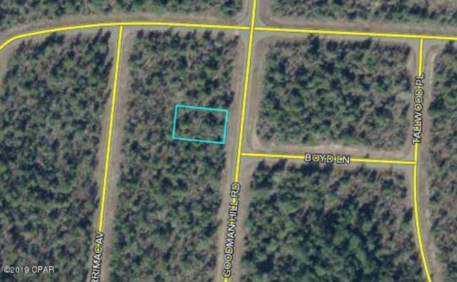00 Goodman Hill Road, Chipley, FL 32428 (MLS #815115) :: ResortQuest Real Estate