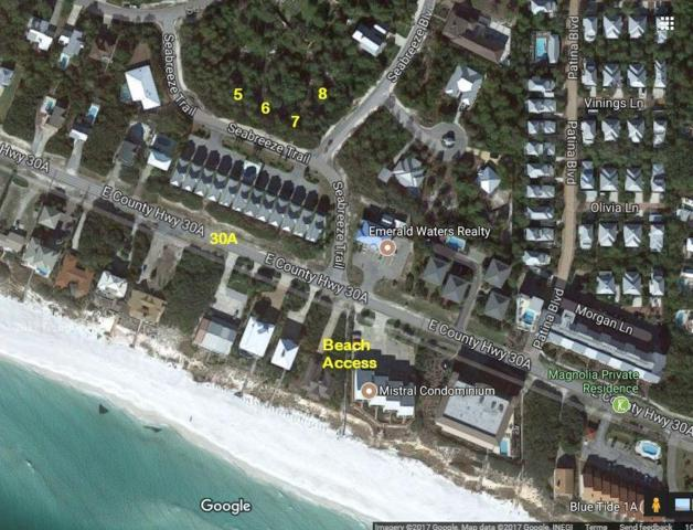 Lots 5-8 Seabreeze Trail, Inlet Beach, FL 32461 (MLS #816082) :: Luxury Properties Real Estate