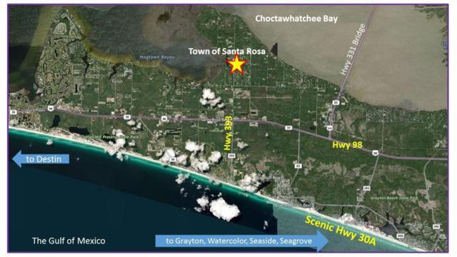 Lot 8 Parcells Place, Santa Rosa Beach, FL 32459 (MLS #816227) :: Luxury Properties Real Estate