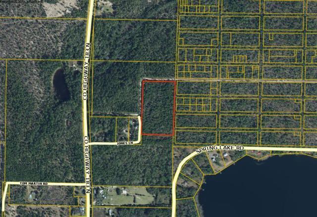 10 ac off Co. Hwy 183 N, Defuniak Springs, FL 32433 (MLS #818284) :: Luxury Properties Real Estate