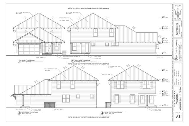 Lot 13 Ruth Street, Miramar Beach, FL 32550 (MLS #820086) :: Classic Luxury Real Estate, LLC