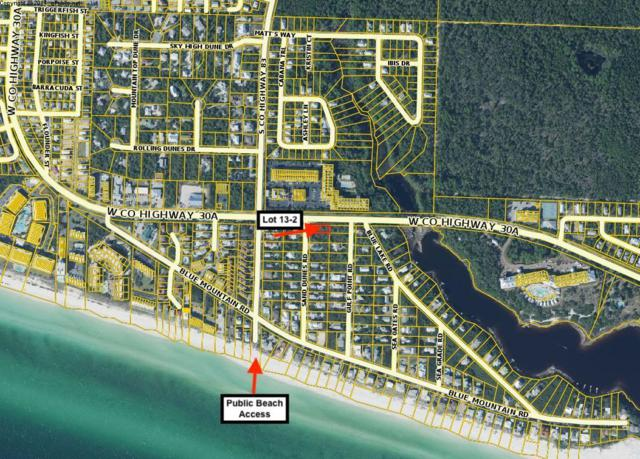 Lot 13-2 Sand Dunes Road, Santa Rosa Beach, FL 32459 (MLS #820847) :: ENGEL & VÖLKERS