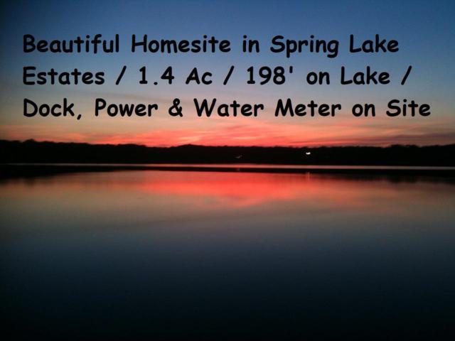 Lot 34 Spring Lake Road, Defuniak Springs, FL 32433 (MLS #822311) :: Classic Luxury Real Estate, LLC