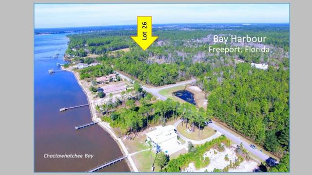 Lot 26 Bay Harbour Boulevard, Freeport, FL 32439 (MLS #823442) :: Berkshire Hathaway HomeServices PenFed Realty