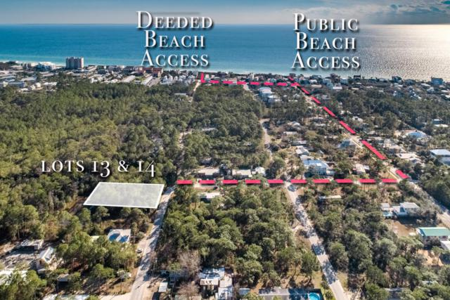 L 13 & 14 Elm Street, Santa Rosa Beach, FL 32459 (MLS #823822) :: Keller Williams Emerald Coast