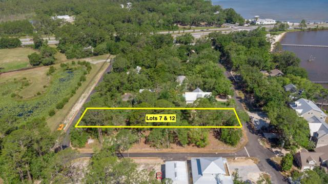 Lot 7 & 12 Bay Magnolia Lane, Santa Rosa Beach, FL 32459 (MLS #823896) :: Berkshire Hathaway HomeServices Beach Properties of Florida