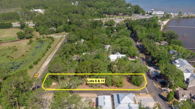 Lot 6 & 11 Bay Magnolia Lane, Santa Rosa Beach, FL 32459 (MLS #823906) :: Berkshire Hathaway HomeServices Beach Properties of Florida