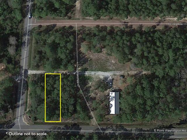 Lot 27 E Point Washington Road, Santa Rosa Beach, FL 32459 (MLS #824173) :: Scenic Sotheby's International Realty