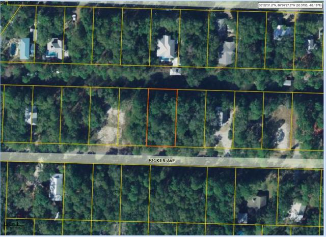 Lot 10 Ricker Avenue, Santa Rosa Beach, FL 32459 (MLS #825711) :: The Premier Property Group