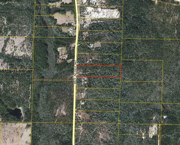 10 Acres Boy Scout Road, Defuniak Springs, FL 32433 (MLS #825909) :: Luxury Properties on 30A