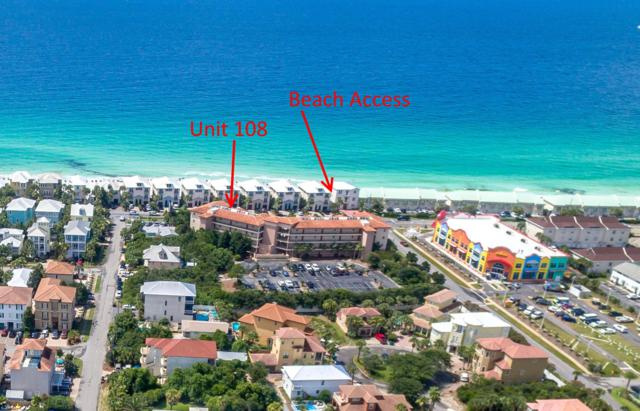 1952 Scenic Gulf Drive #108, Miramar Beach, FL 32550 (MLS #827159) :: Berkshire Hathaway HomeServices Beach Properties of Florida