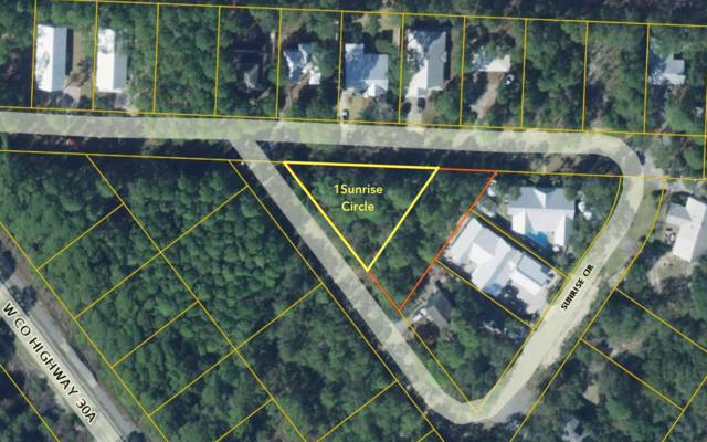 1 Sunrise Circle, Santa Rosa Beach, FL 32459 (MLS #827382) :: Somers & Company