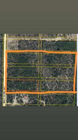 TBD Watson Road, Defuniak Springs, FL 32433 (MLS #827567) :: Somers & Company