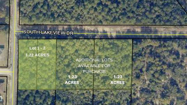 PARCEL#1-2 S Lakeview Drive, Crestview, FL 32536 (MLS #832478) :: Counts Real Estate on 30A