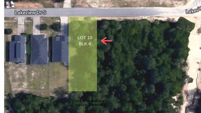 Lot 10 Blk S Lakeview, Crestview, FL 32536 (MLS #832530) :: Counts Real Estate on 30A