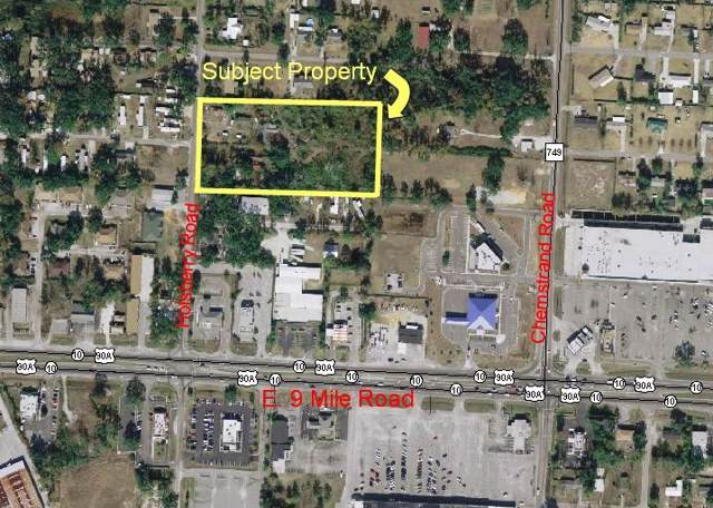 9530 Holsberry Road Parcel-1&2, Pensacola, FL 32534 (MLS #832926) :: ResortQuest Real Estate