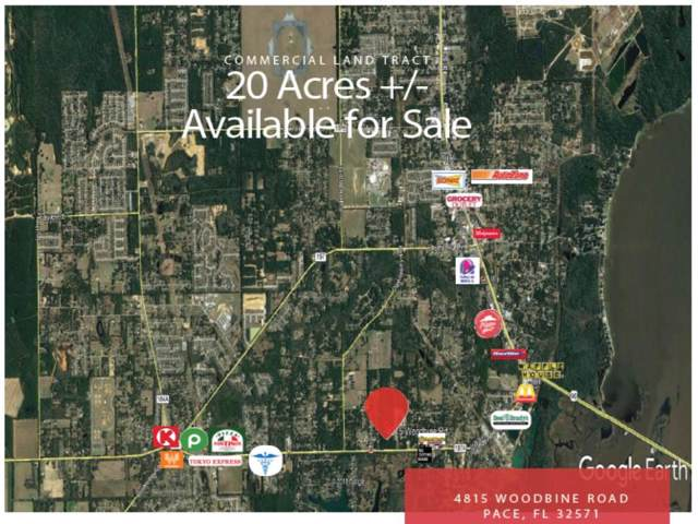 4815 Woodbine Road, Pace, FL 32571 (MLS #833088) :: Keller Williams Emerald Coast