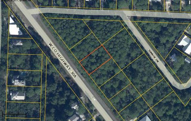 lot 8 W County Hwy 30A, Santa Rosa Beach, FL 32459 (MLS #833321) :: Keller Williams Emerald Coast