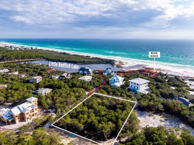 Lot 4 Bannerman Beach Lane, Santa Rosa Beach, FL 32459 (MLS #836257) :: Luxury Properties on 30A