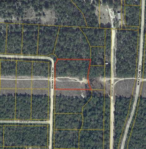 1.7 acres Round Table Road, Defuniak Springs, FL 32433 (MLS #836463) :: CENTURY 21 Coast Properties